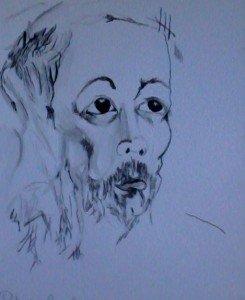 Dessins à l'encre de Chine et au crayon graphite dans Dessins la-sagesse-245x300